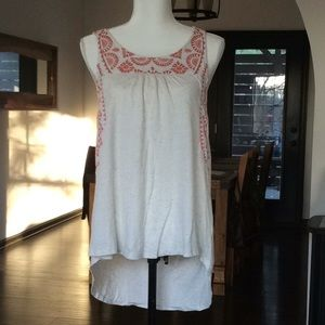 Lucky brand tribal trim tank M